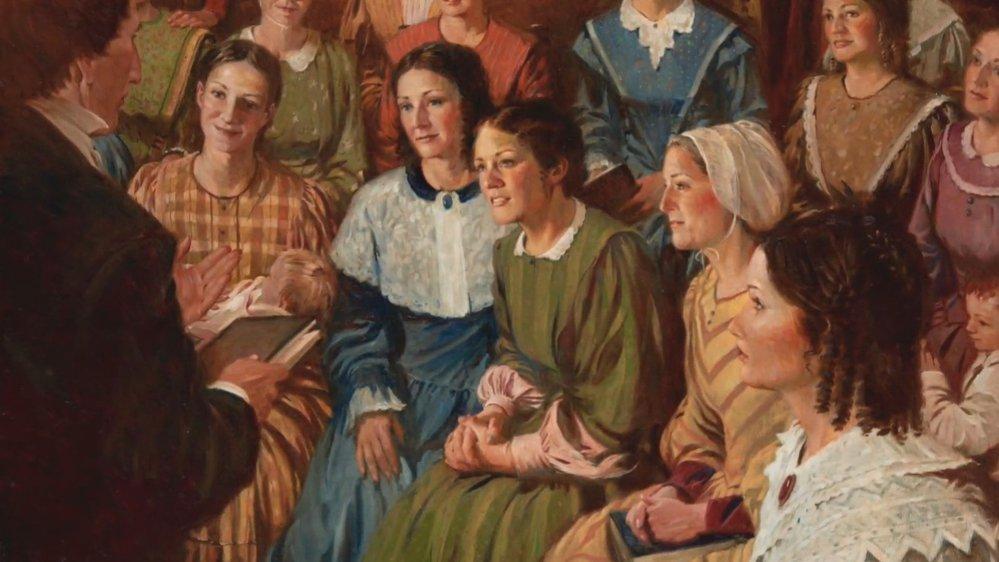 Smith měl mít podle historiků asi 38 a 40 manželek