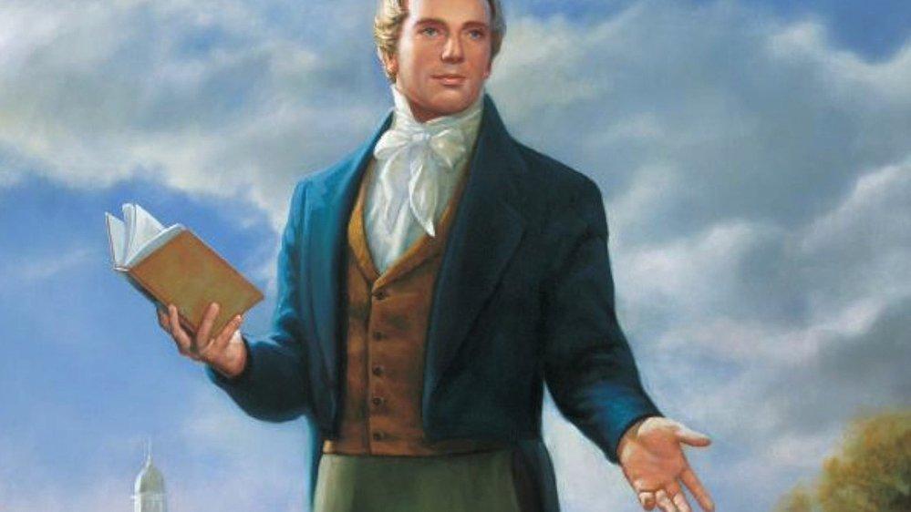 Právě Joseph Smith byl vybrán za proroka a zakladatele nové církve, která se – na rozdíl od těch současných – navrátí kpůvodní podstatě víry.