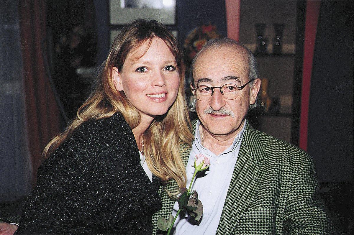 Herz s exmanželkou Terezou Pokornou