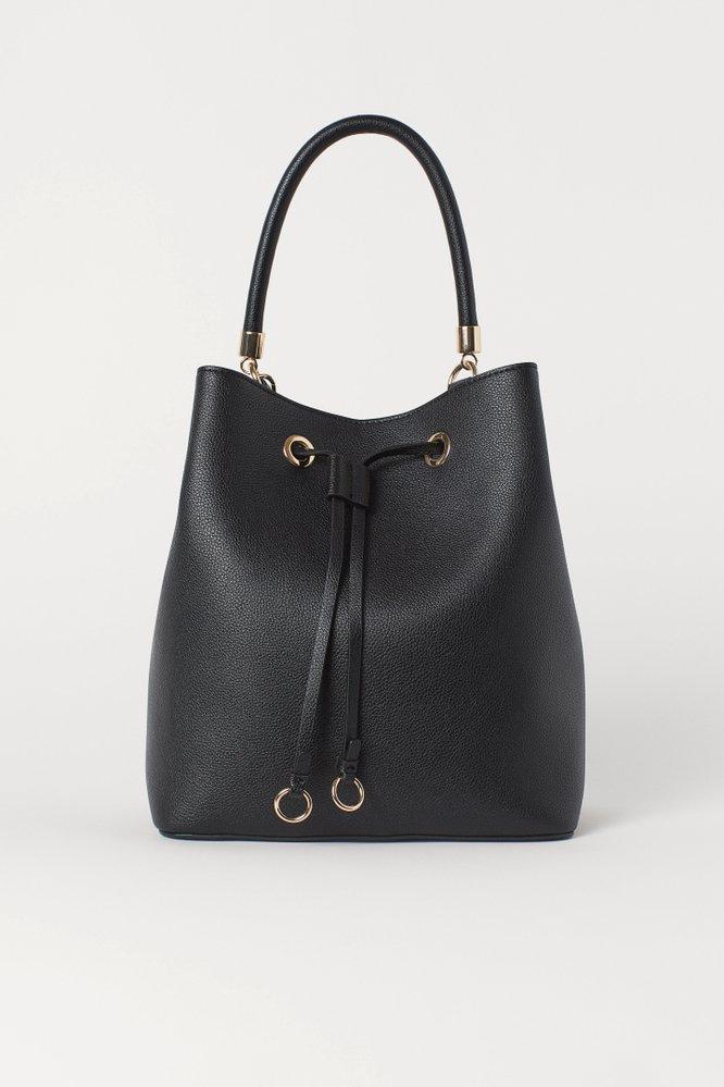 Velká kabelka bucket bag, H&M, 899 Kč