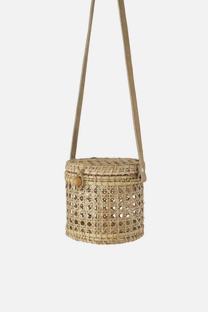 Proutěná kabelka, Zara, 1399 Kč