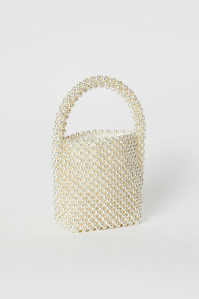 Korálková kabelka, H&M, 899 Kč