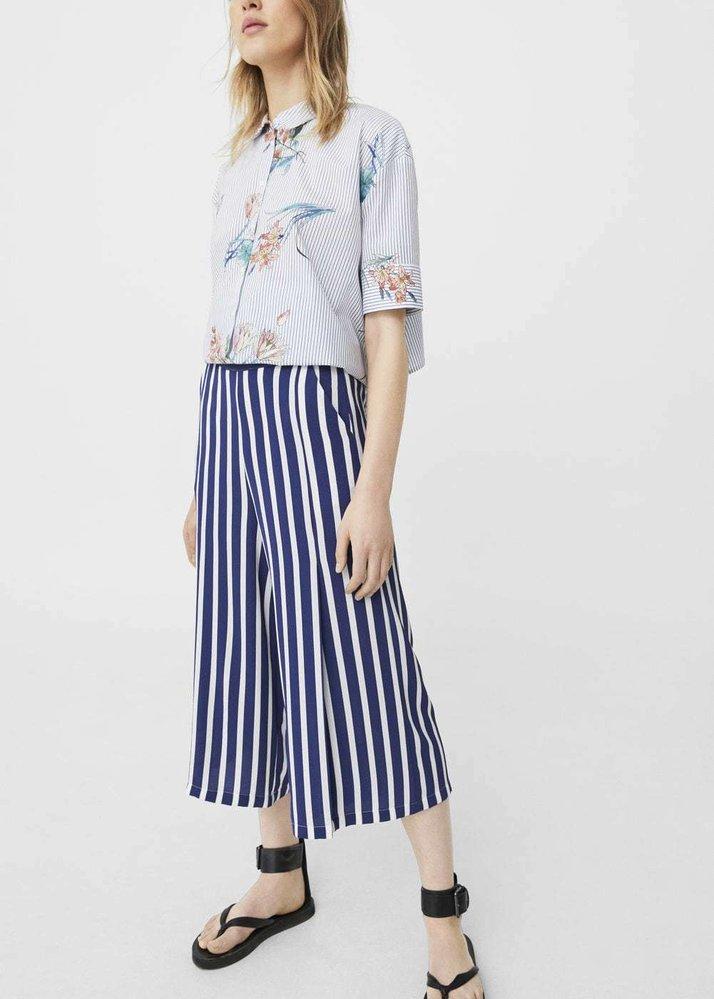 Splývavé kalhoty culottes, Mango, 599 Kč