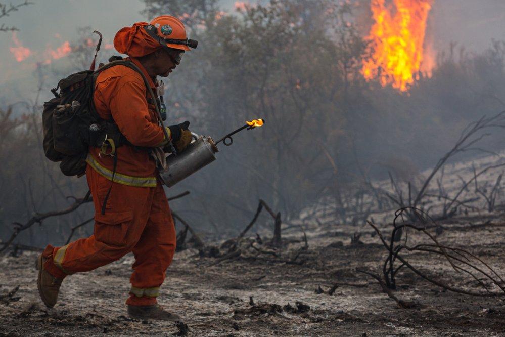 Kalifornii sužují rozsáhlé lesní požáry