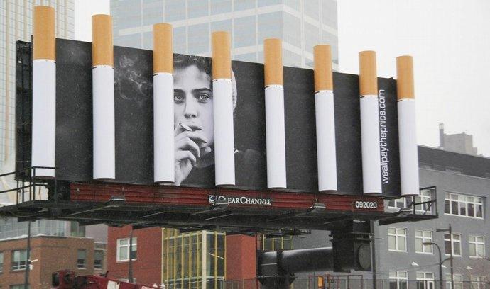 Kampaň proti kouření v Minnesotě v USA