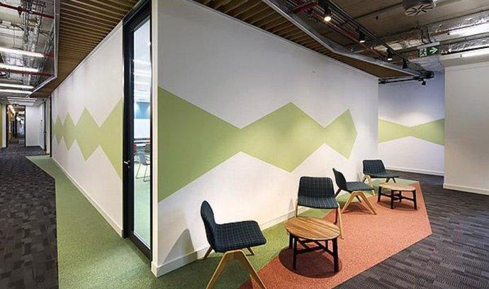 Kanceláře Amazonu v pražských Dejvicích