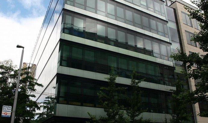 Kancelářská budova v komplexu Anděl City na pražském Smíchově
