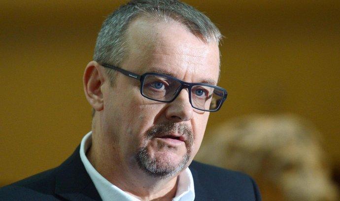 Kandidát hnutí ANO na ministra dopravy Dan Ťok vystoupil 12. listopadu na tiskové konferenci v Poslanecké sněmovně v Praze.