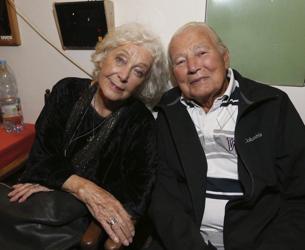 S Květou Fialovou se setkali ještě loni, když slavila 84. narozeniny.