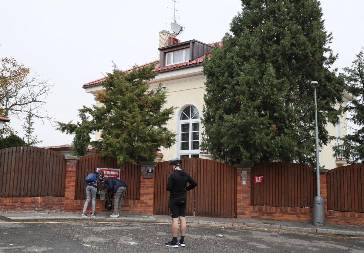 Vila Karla Gotta na Bertramce