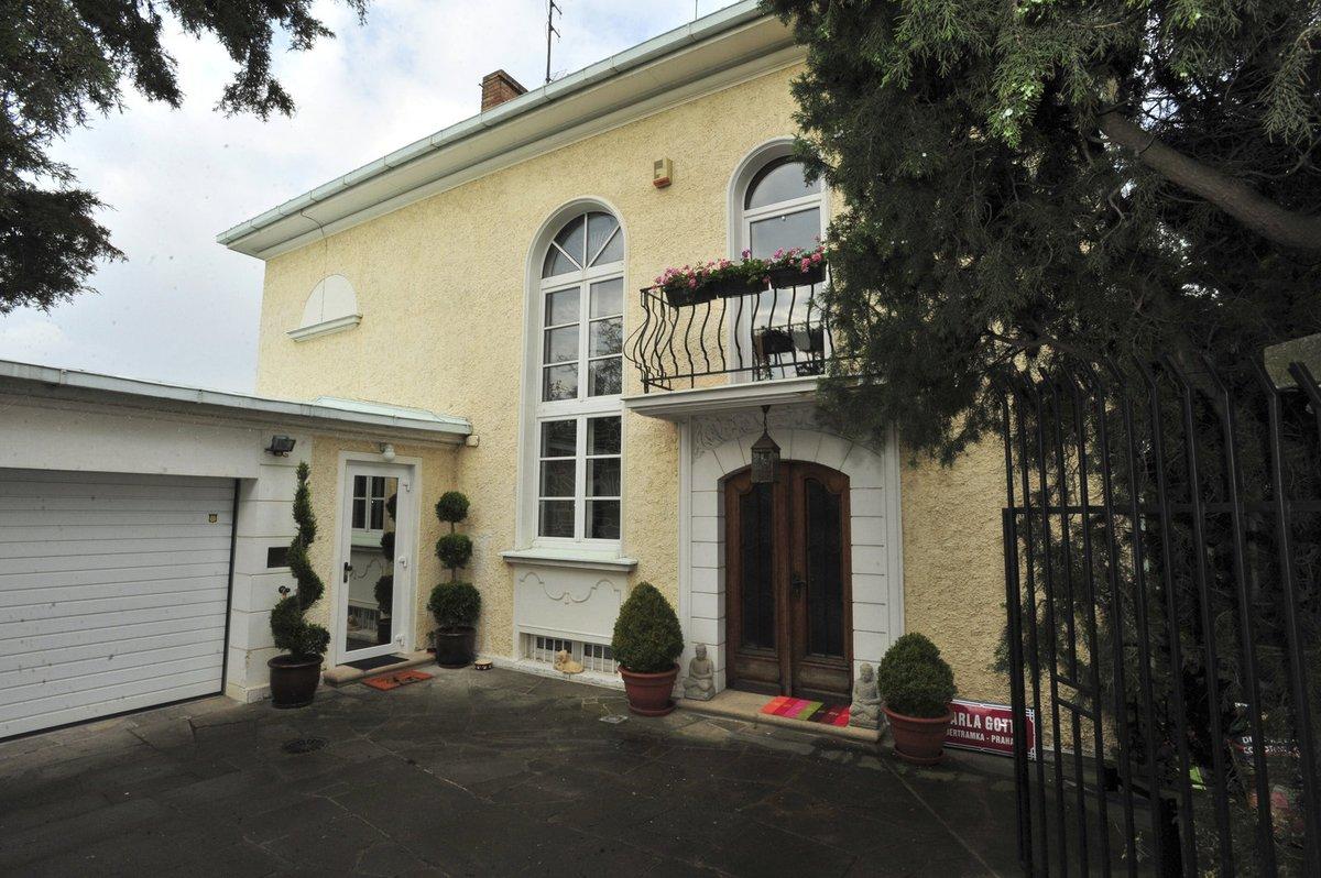 Vila na Bertramce od 26. února patří Gottově manželce Ivaně.