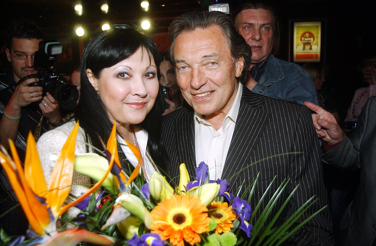 Karel Gott a Dáda Patrasová