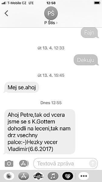 Kafkova esemeska o Mistrovi.