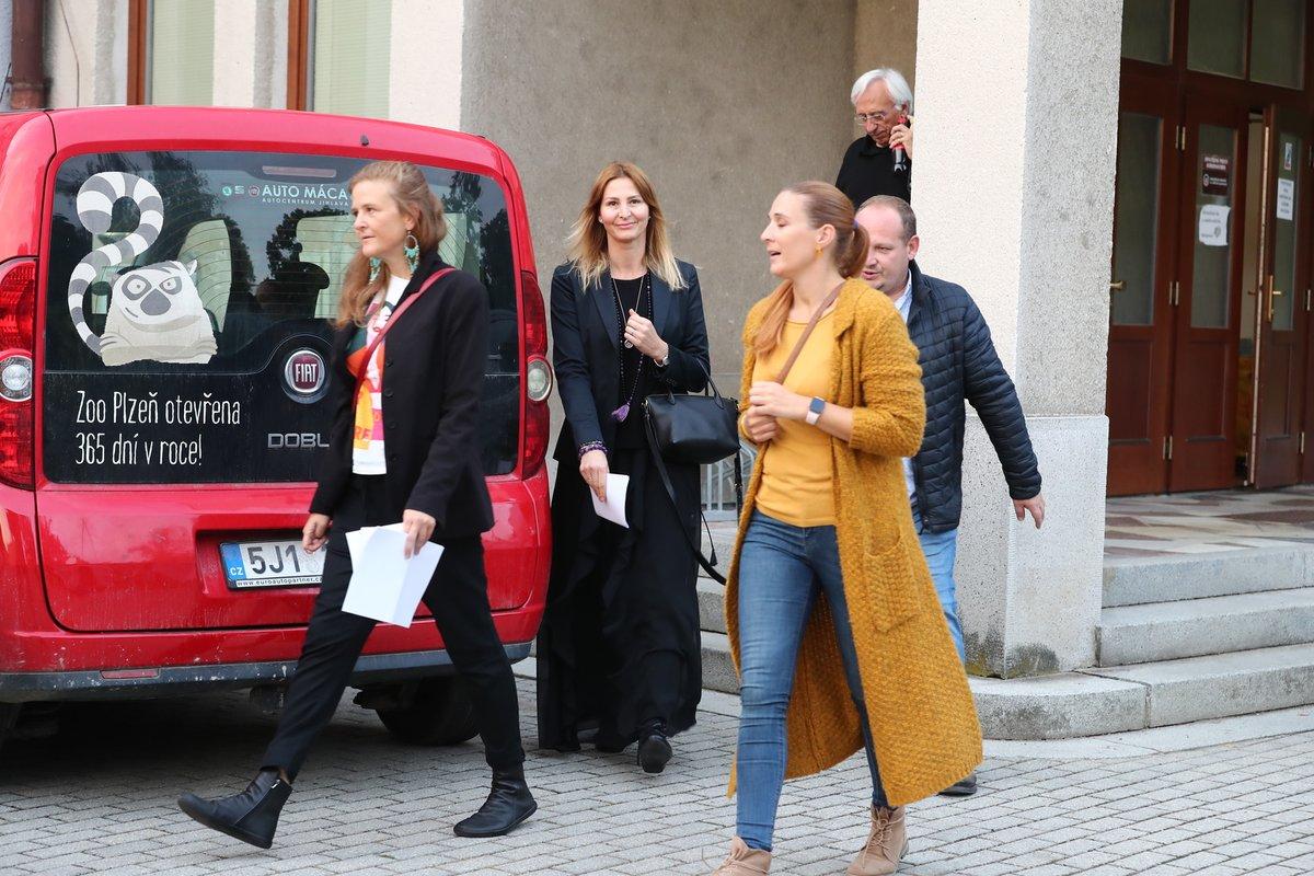 Předpremiéra filmu Karel v Plzni - Ivana Gottová