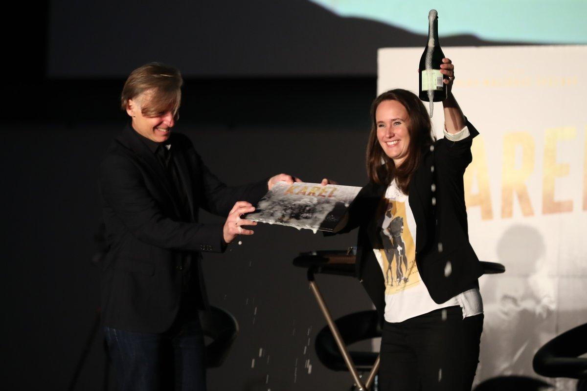 Předpremiéra filmu Karel v Plzni
