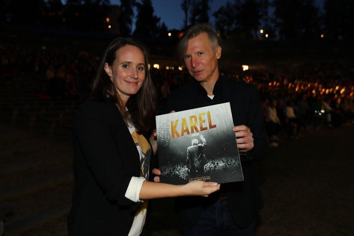Předpremiéra filmu Karel v Plzni - Olga Špátová