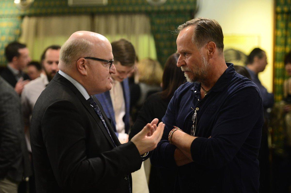 Karel Roden se bavil s ministrem kultury Danielem Hermanem.