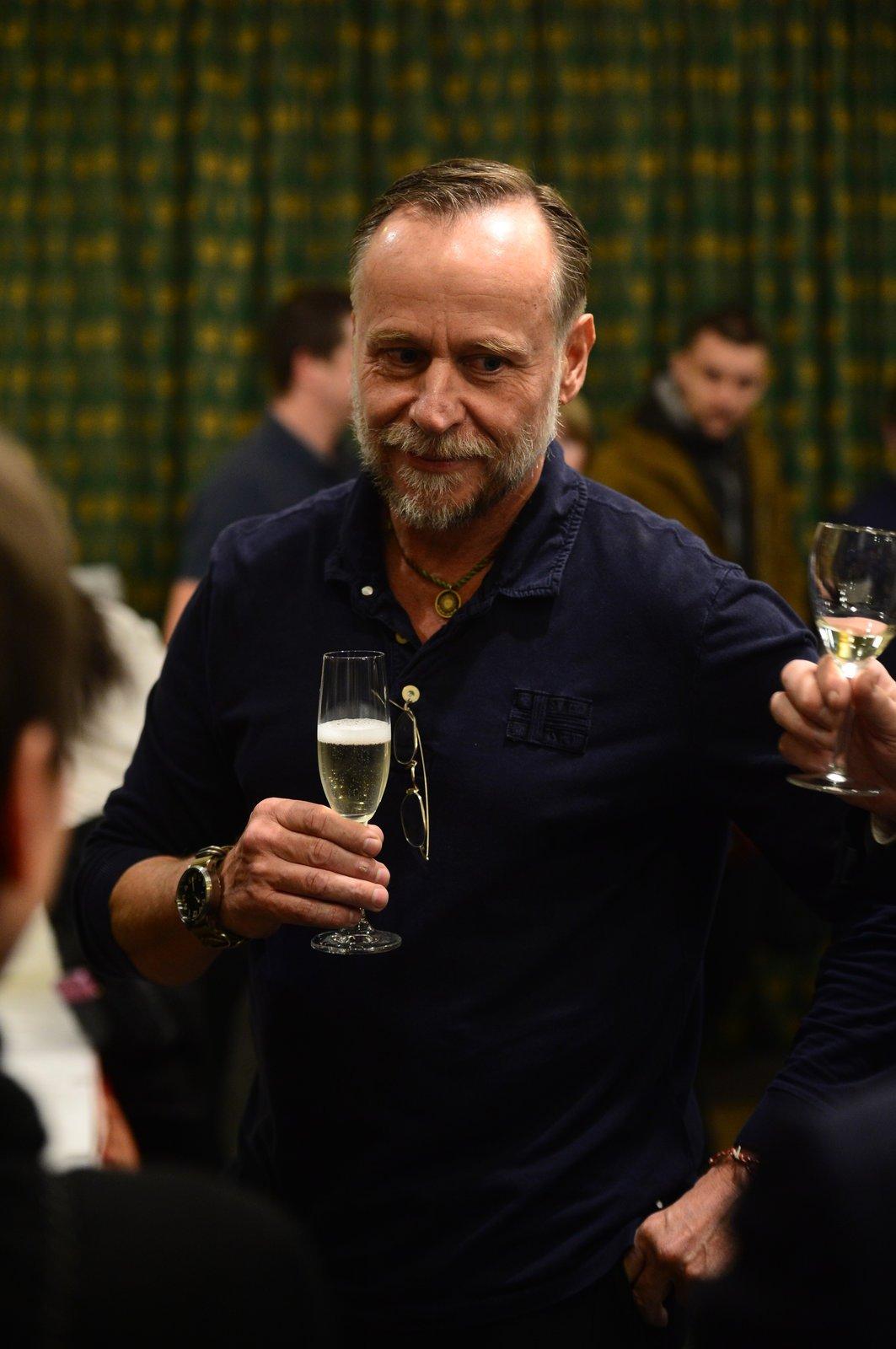 Karel Roden si dal šampíčko