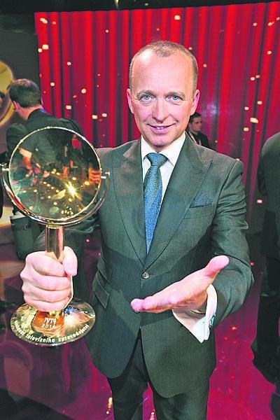 Karel je držitelem šesti cen TýTý v kategorii Osobnost televizního zpravodajství.