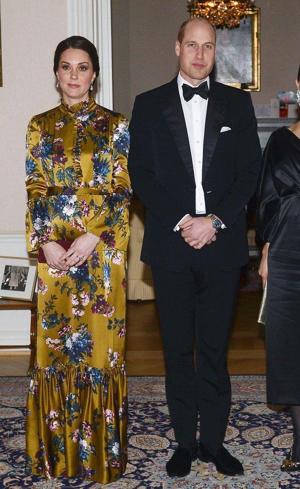 Kate Middleton v šatech Erdem