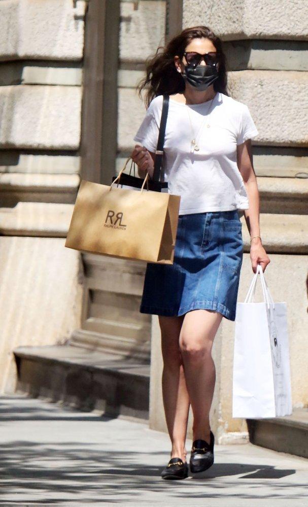 Letní styl Katie Holmes