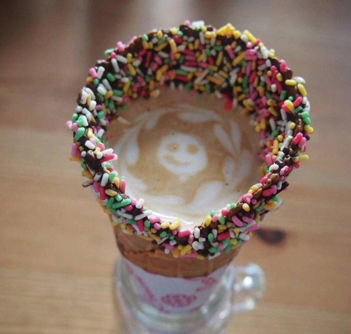 Káva v kornoutku je nový hit!