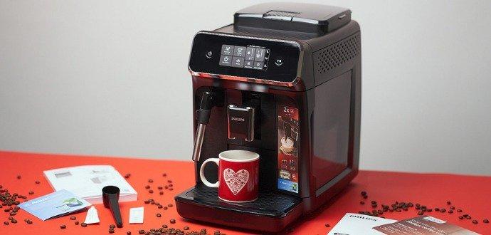 Recenze kávovaru Philips Series 2200: v jednoduchosti je krása