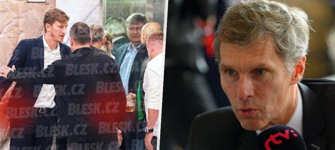 Šéfa ČOV Kejvala Neussera na mejdan kvůli sporům nepozval.