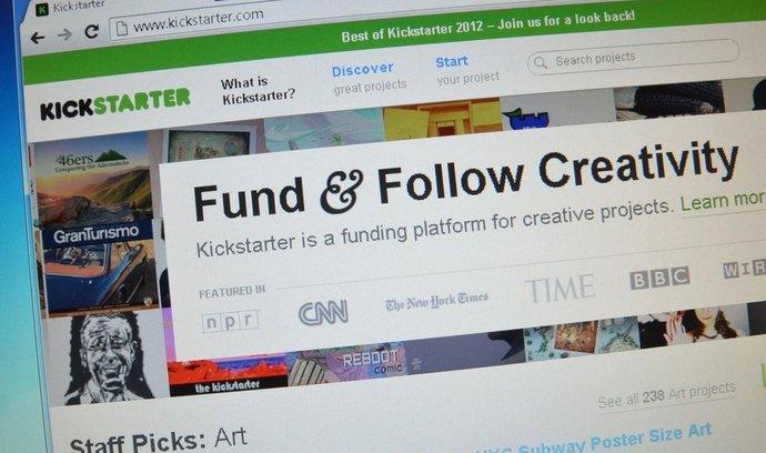 Kickstarter (ilustrační foto)