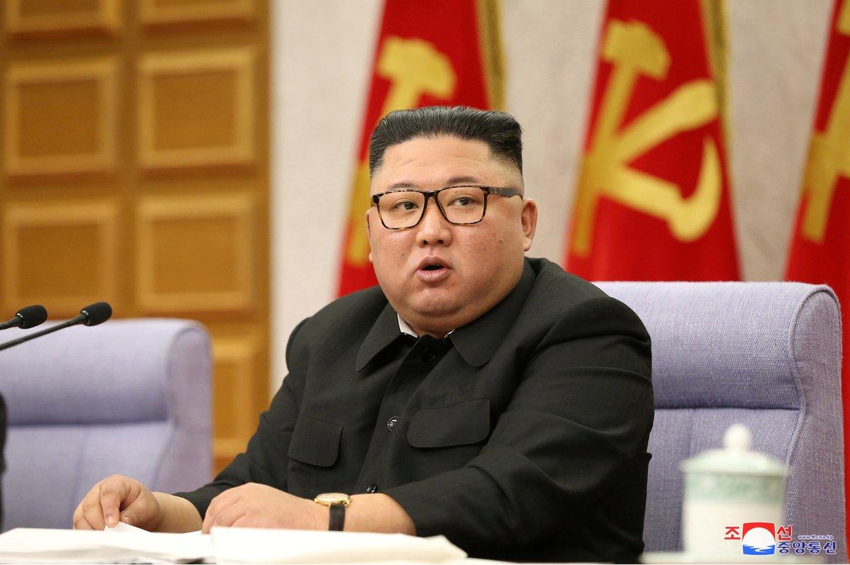 Severokorejský diktátor Kim Čong-un.