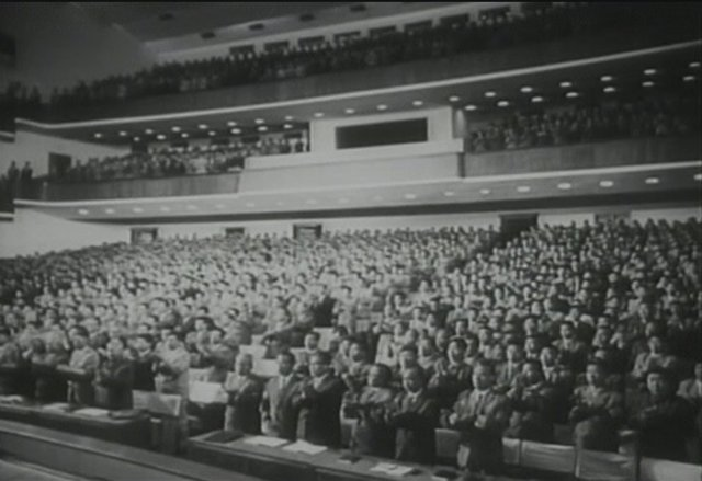 Sjezd dělnické strany KLDR v roce 1966