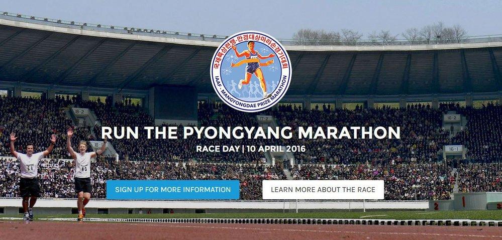 Maratonu v Pchjongjangu se účastnili i bežci z Česka