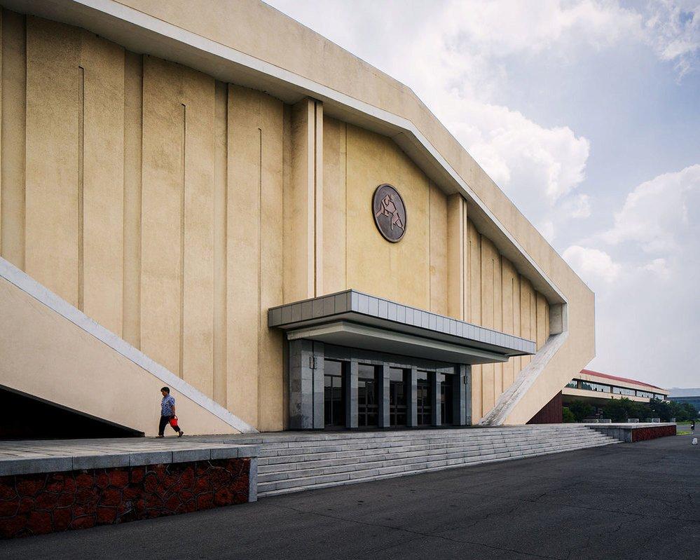 Komunistická architektura v Severní Koreji jako umění