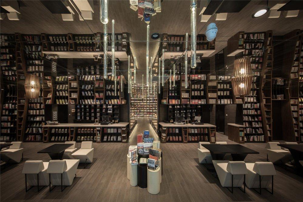 Zrcadlové knihkupectví v Číně