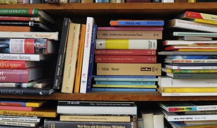 Knihovna, ilustrační foto