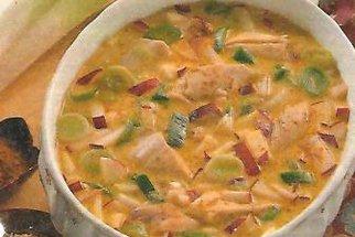 Kokosová polévka s karí