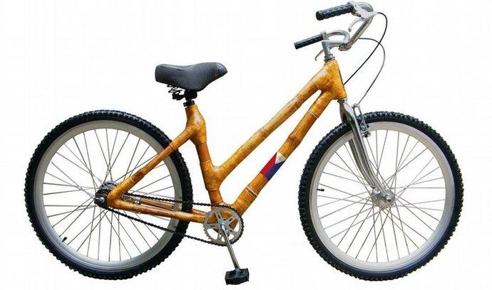 kolo z bambusu