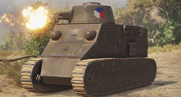 První československý tank: Když do války, tak Kolohousenkou!