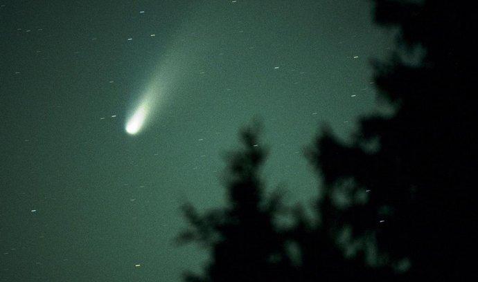 Kometa, ilustrační foto
