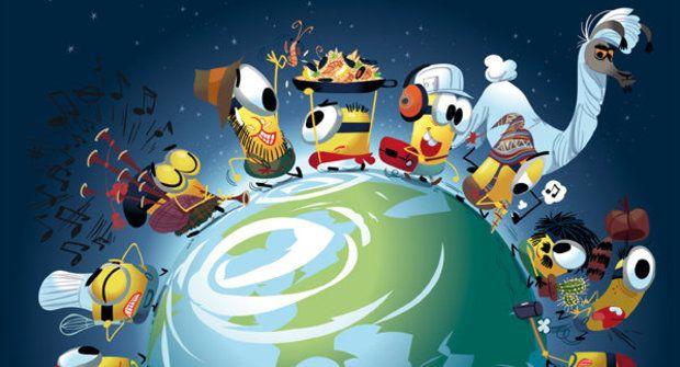 Soutěž o 10 komiksů Mimoni Světoběžníci
