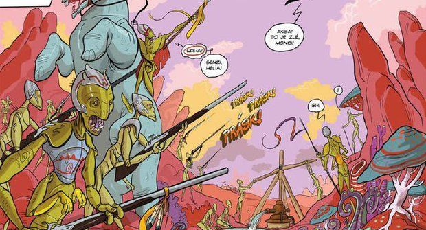Komiksy z ábíčka: Hezky přehledně a pohromadě