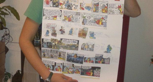 Vlastní mix komiksů z Ábíčka? Proč ne ;)