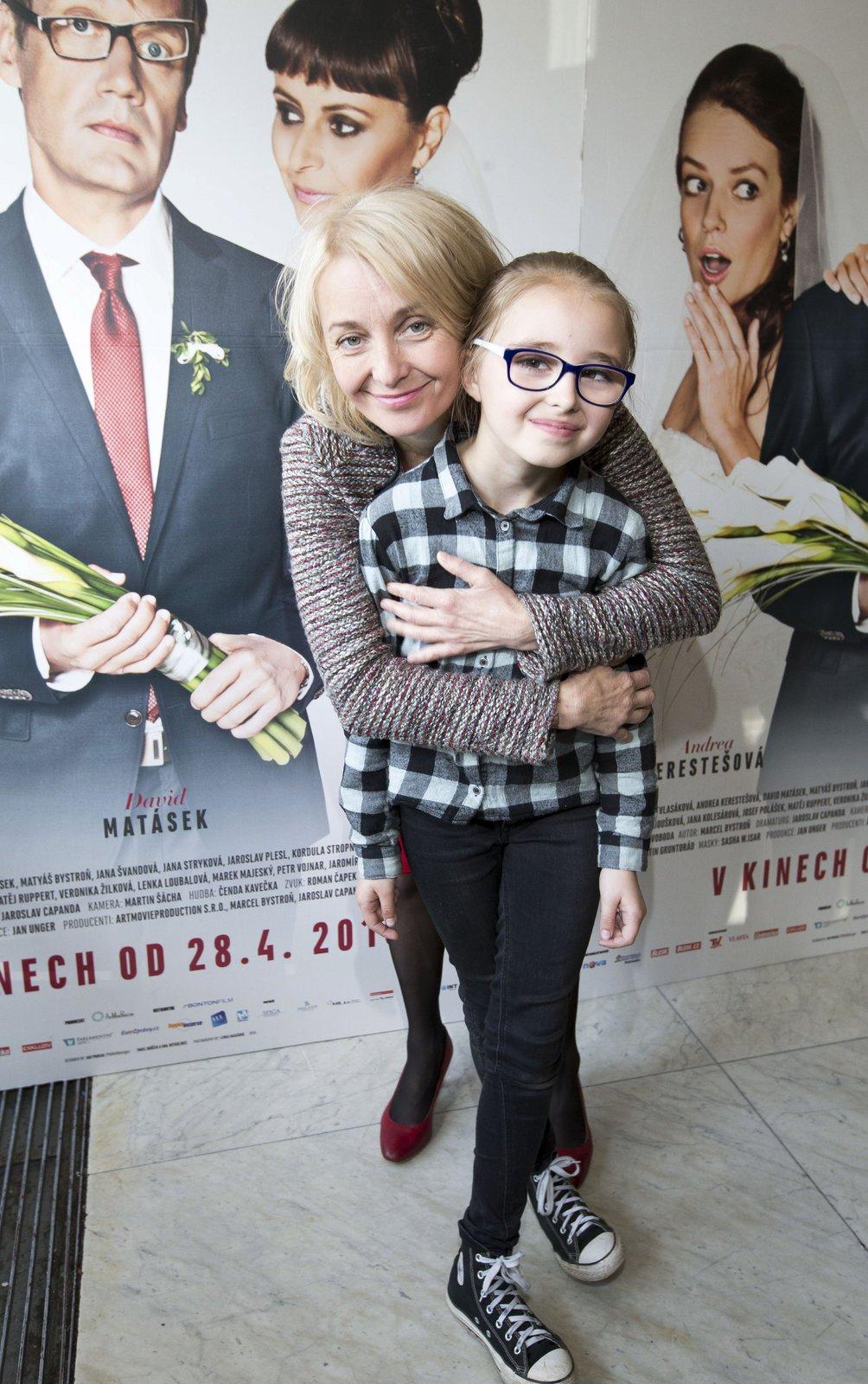 Veronika je na svou nejmladší dceru právem pyšná.