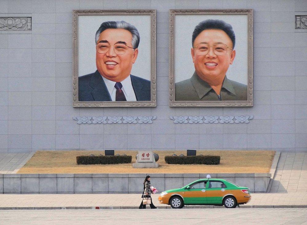 Kimové děd a otec.