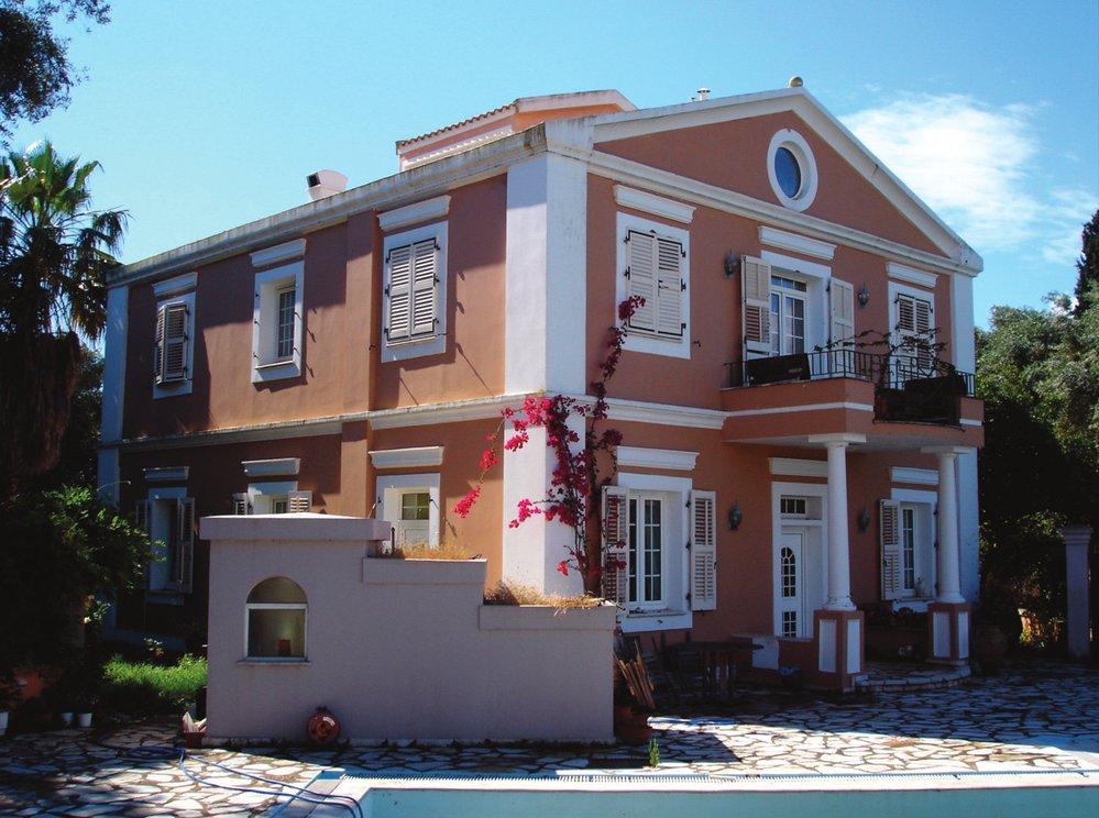 Růžová vila Durrellových
