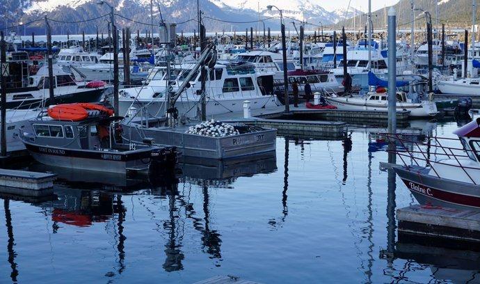 Aljaška se připravuje na lov lososů.