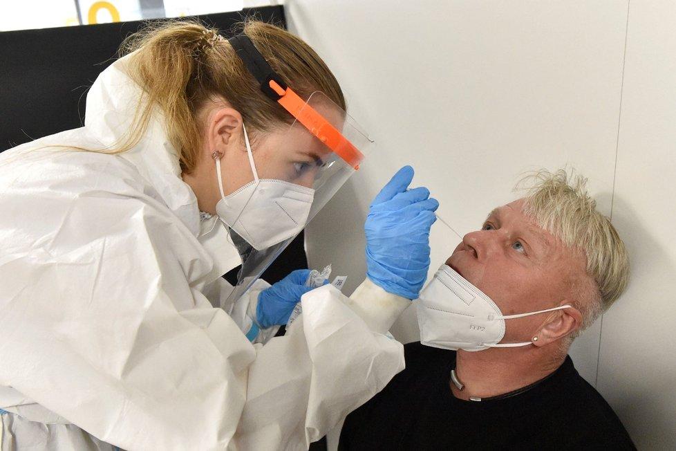 Testování na koronavirus v Česku