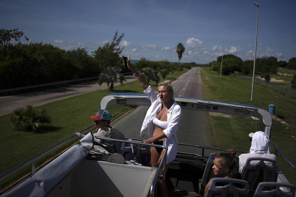 Koronavirus na Kubě: Rozvolnění se dotklo i pláží Havany (podzim 2021)