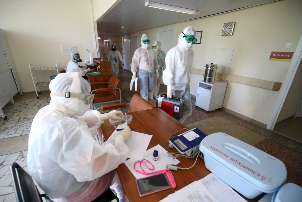 Koronavirus v Rusku