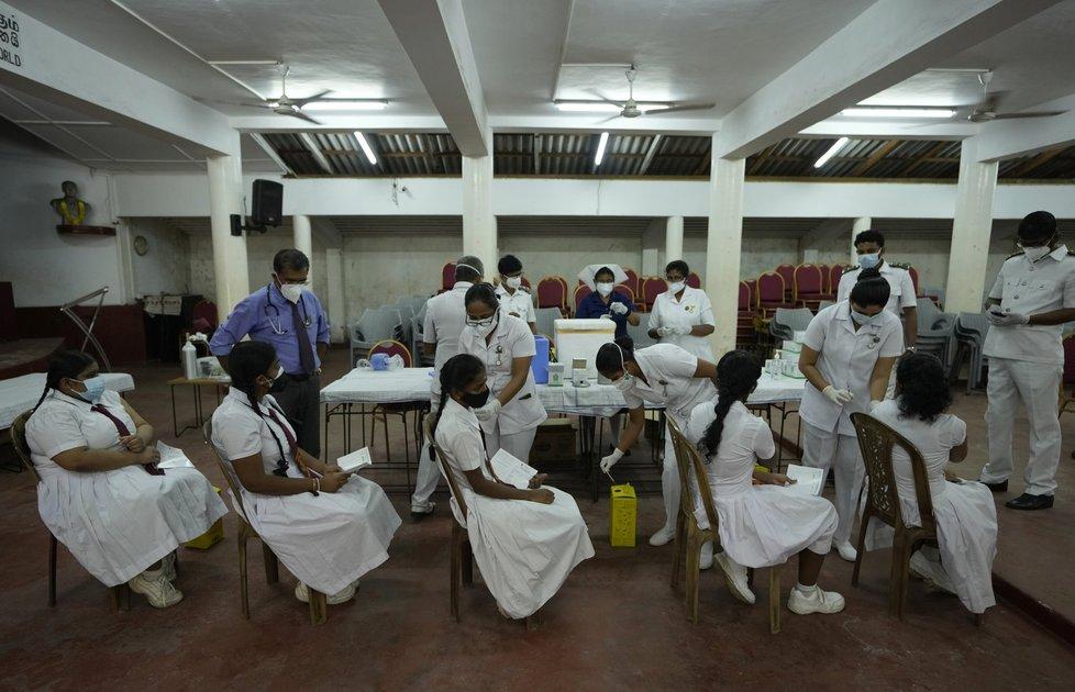 Koronavirus na Srí Lance.